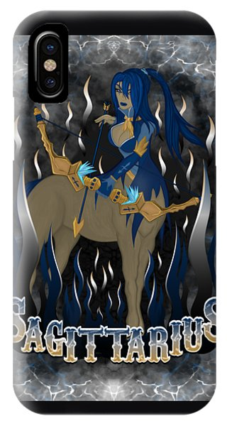 The Archer Sagittarius Spirit IPhone Case