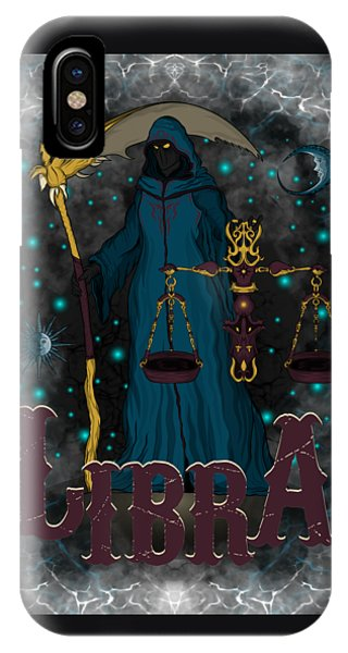 The Scale Libra Spirit IPhone Case