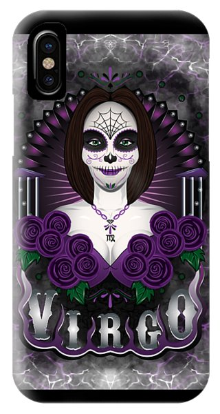 The Virgin Virgo Spirit IPhone Case