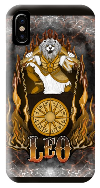 The Lion Leo Spirit IPhone Case