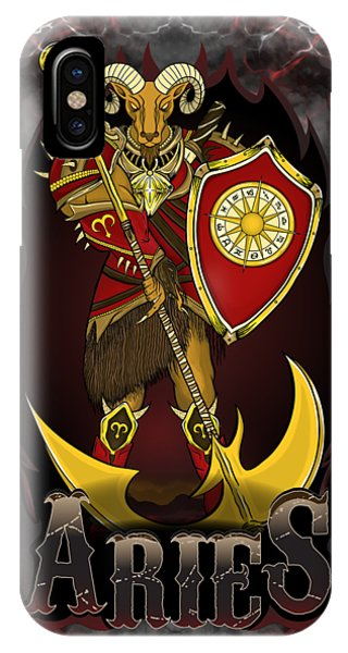 The Ram Aries Spirit IPhone Case