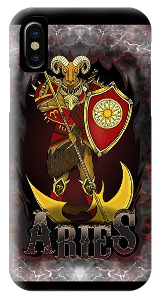The Ram Aries Spirit IPhone Case
