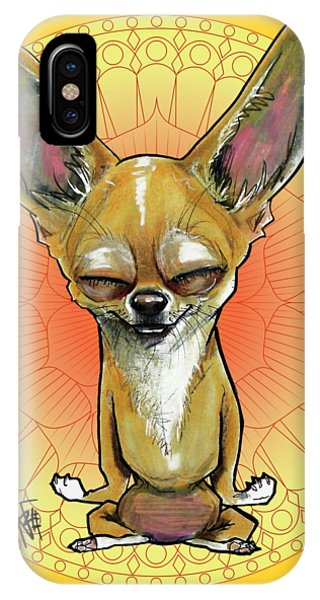Meditating Chihuahua IPhone Case