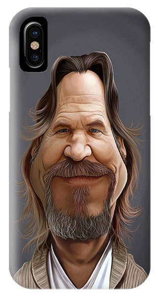 Celebrity Sunday - Jeff Bridges IPhone Case