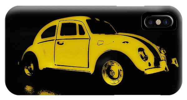 Yellow Bug IPhone Case