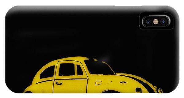 Yellow Bug IPhone Case