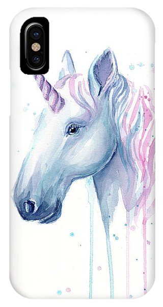 Cotton Candy Unicorn IPhone Case