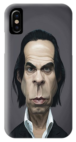 Celebrity Sunday - Nick Cave IPhone Case