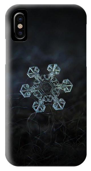 Real Snowflake - Ice Crown New IPhone Case