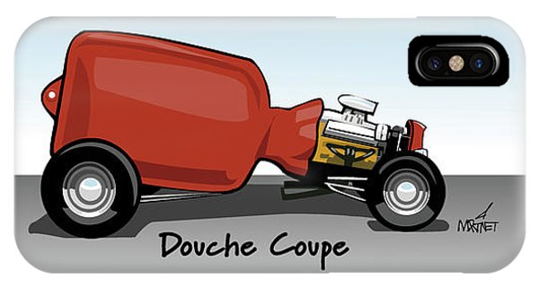 Douche Coupe IPhone Case