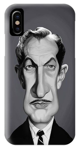 Celebrity Sunday - Vincent Price IPhone Case