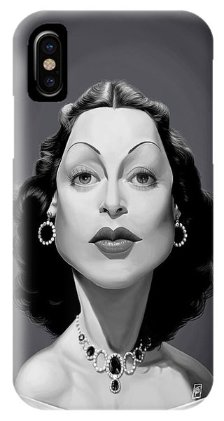 Celebrity Sunday - Hedy Lamarr IPhone Case