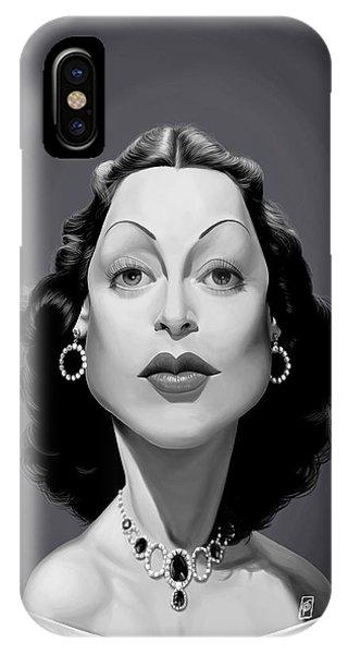 Celebrity Sunday - Hedy Lamarr IPhone Case