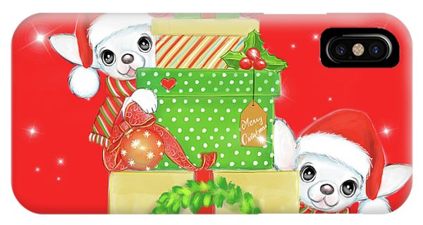 Christmas Chi Elves IPhone Case
