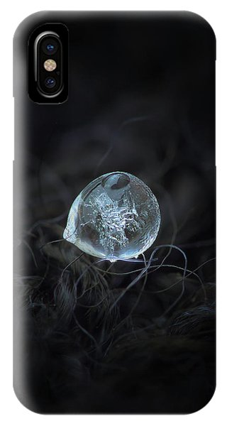 Drop Of Ice Rain IPhone Case