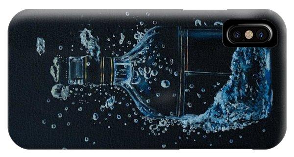 Lid iPhone Case - Dry, Bottle Art by Laurel Moore