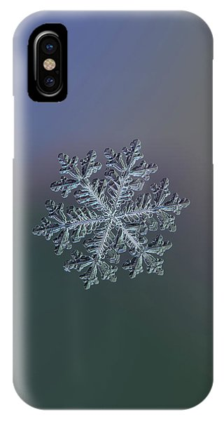 Real Snowflake - Hyperion Dark IPhone Case