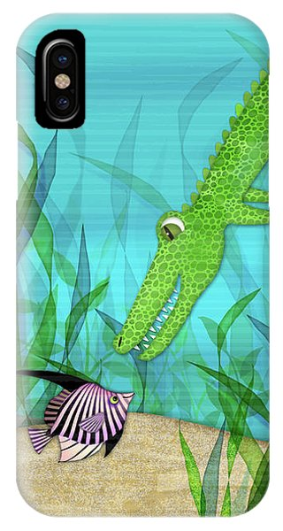A Is For Alligator IPhone Case