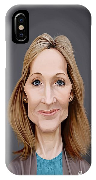 Celebrity Sunday - J.k.rowling IPhone Case