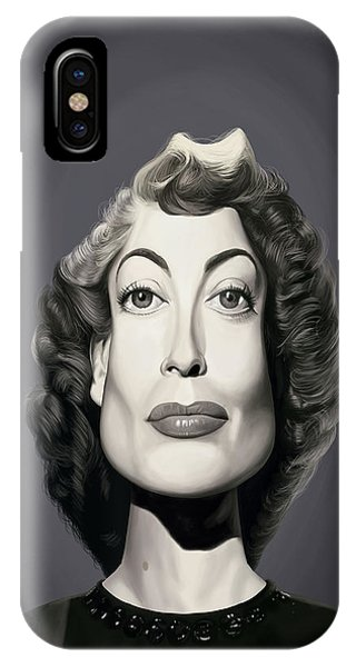 Celebrity Sunday - Joan Crawford IPhone Case