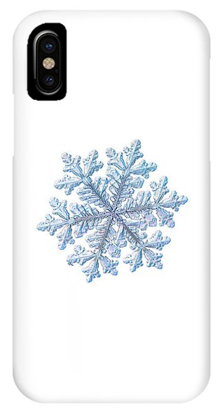 Real Snowflake - Hyperion White IPhone Case