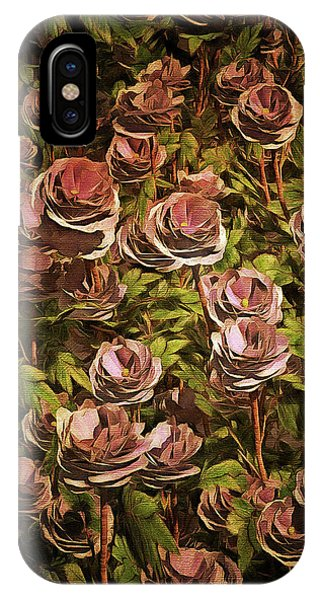 Blue Moon Roses IPhone Case
