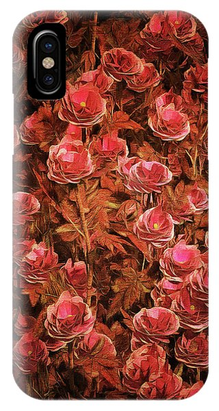 Pink Bionica Roses IPhone Case