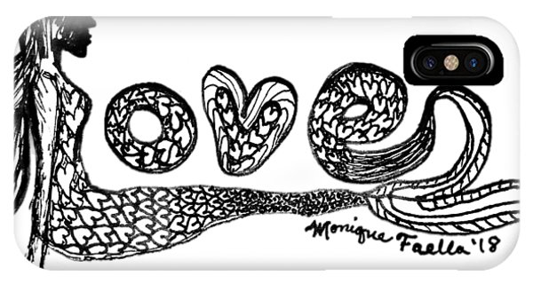 Mermaid Love IPhone Case
