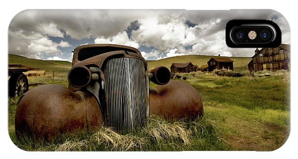 Old  Car Bodie State Park IPhone Case