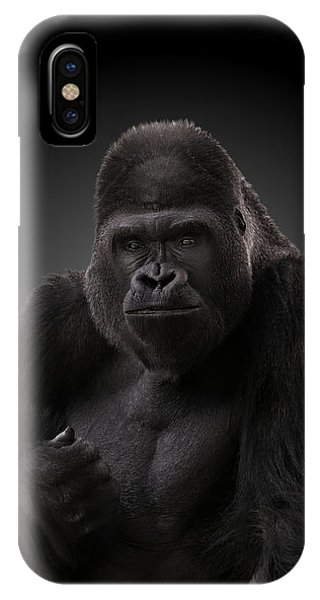 Hey There - Gorilla IPhone Case