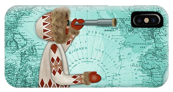 E Is For Eskimo And Explorer IPhone Case