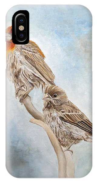 House Finch Couple IPhone Case