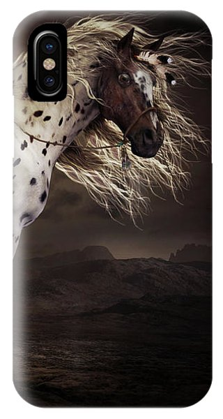 Horse iPhone Case - Leopard Appalossa by Shanina Conway