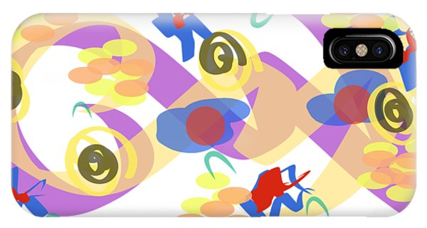 IPhone Case featuring the digital art Abstract Garden #5 by Bee-Bee Deigner