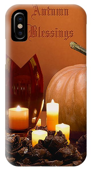 iPhone Case - Autumn Blessings by Cynthia Leaphart