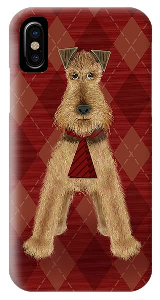 A Is  For Airedale IPhone Case