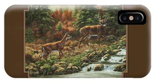 Whitetail Deer - Follow Me IPhone Case