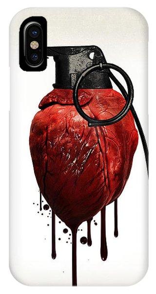 Heart Grenade IPhone Case