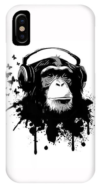 Insect iPhone Case - Monkey Business by Nicklas Gustafsson