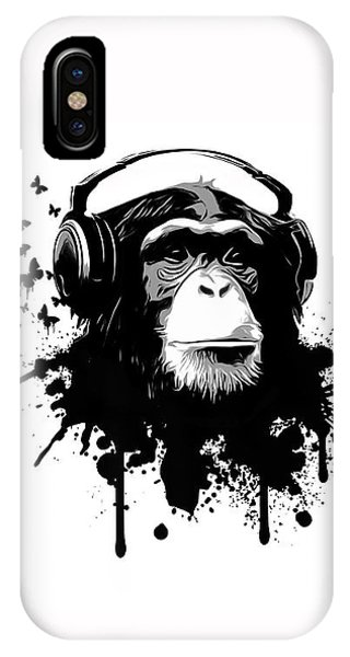 iPhone X Case - Monkey Business by Nicklas Gustafsson