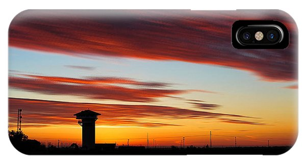 Sunrise Over Golden Spike Tower IPhone Case