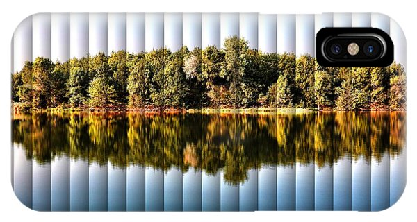 When Nature Reflects - The Slat Collection IPhone Case