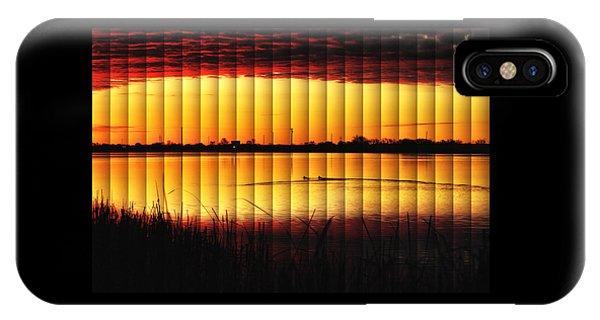 Magnificent Sunrise Swim IPhone Case