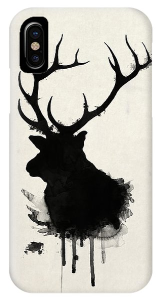 Hunting iPhone Case - Elk by Nicklas Gustafsson