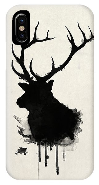 Animals iPhone Case - Elk by Nicklas Gustafsson