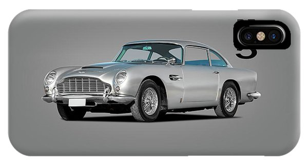 Martin iPhone Case - Aston Martin Db5 by Mark Rogan