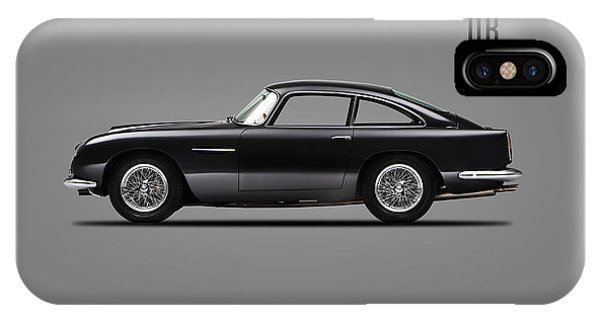 Martin iPhone Case - Aston Martin Db4 by Mark Rogan