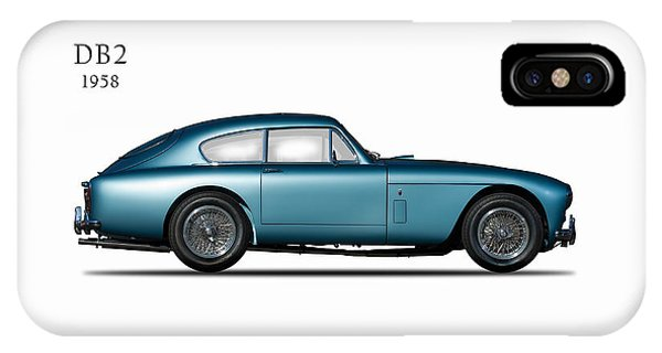 Martin iPhone Case - Aston Martin Db2 by Mark Rogan