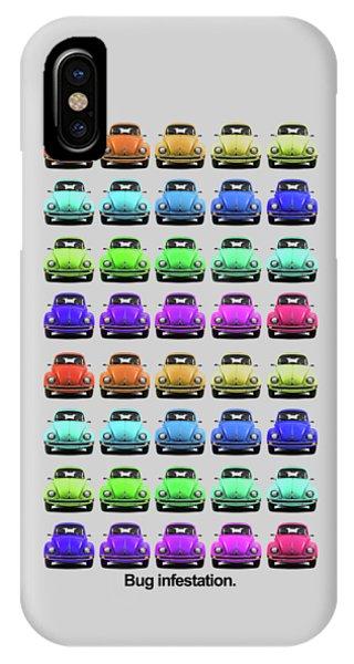 Volkswagen iPhone Case - Bug Infestation. by Mark Rogan