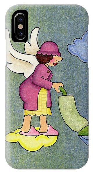 Heavenly Housekeeper IPhone Case